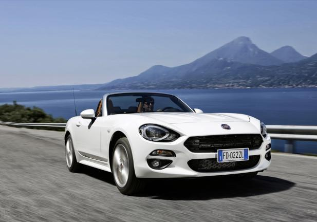 Fiat 124 Spider frontale