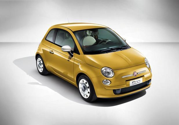 Fiat 500 Color Therapy gialla