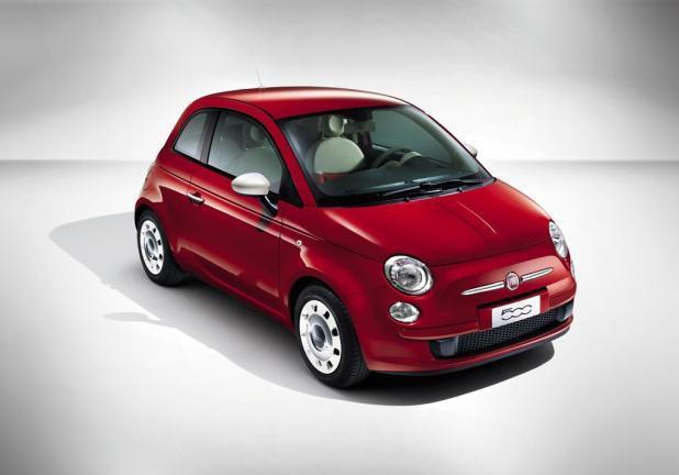 Fiat 500 Color Therapy rossa