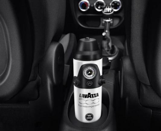 Foto fiat 500l macchina del caff lavazza - Macchina caffe lavazza in black ...
