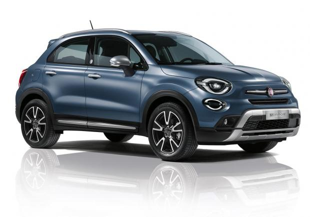Fiat 500X Cross, nuova serie 'Mirror' 02