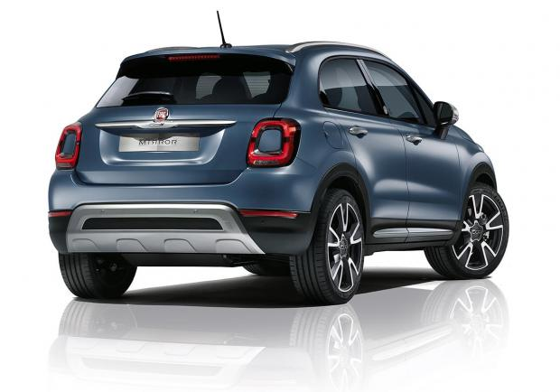 Fiat 500X Cross, nuova serie 'Mirror' 03