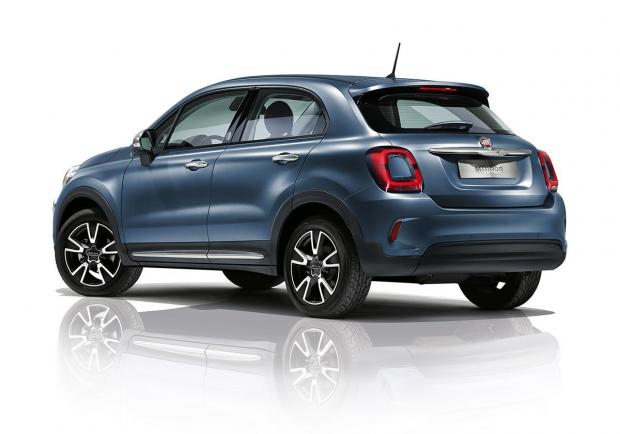 Fiat 500X Cross, nuova serie 'Mirror' 04