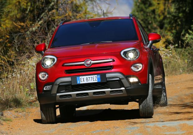 Fiat 500X Cross Plus anteriore