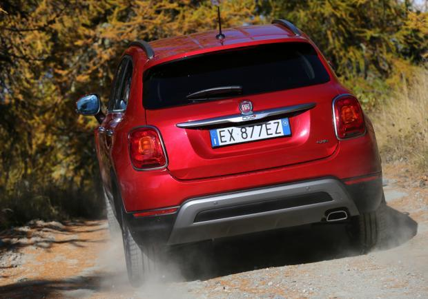 Fiat 500X Cross Plus posteriore