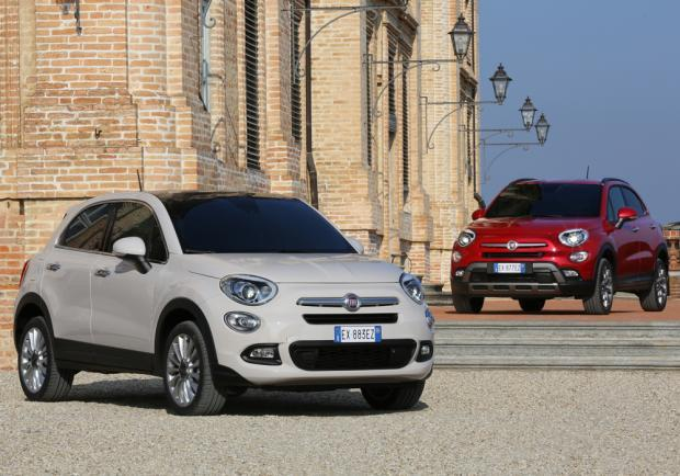 Fiat 500X Lounge e 500X Cross Plus