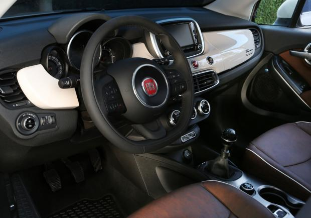 Fiat 500X Lounge interni