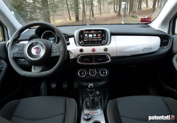 Fiat 500X 1.6 Multijet Lounge interni