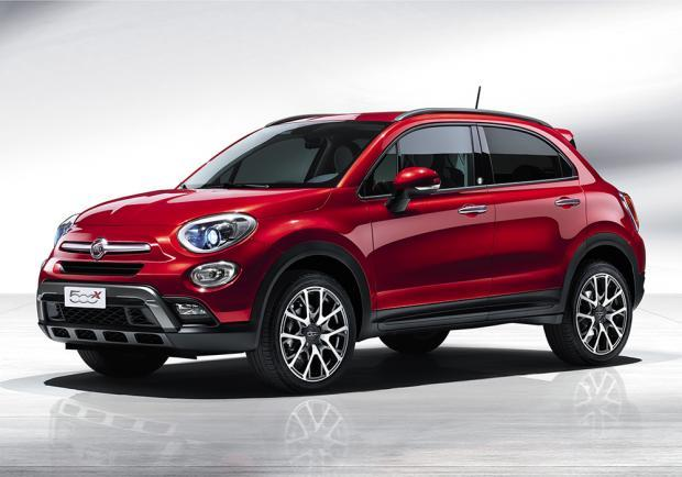 Fiat 500X Opening Edition Rosso Amore Tristrato