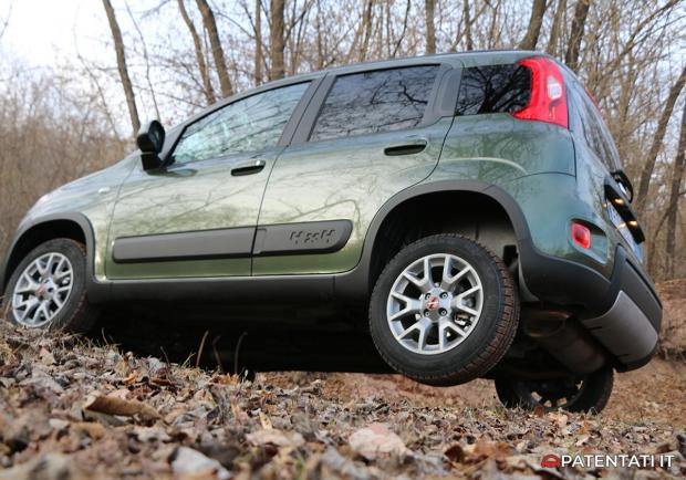 Fiat Panda 4x4 0.9 TwinAir Turbo off-road