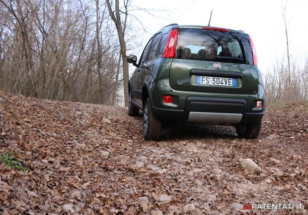 Fiat Panda 4x4 0.9 TwinAir Turbo test drive off-road