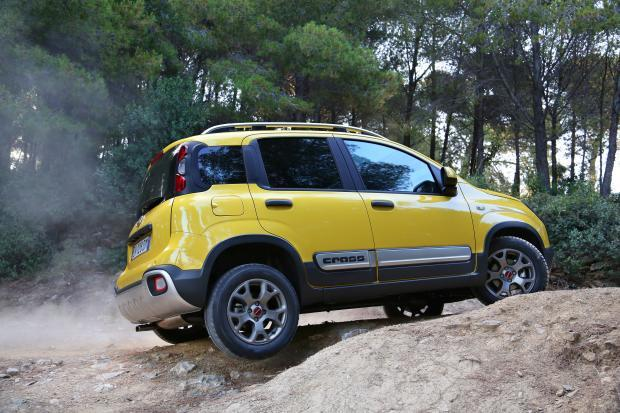 Fiat Panda Cross laterale