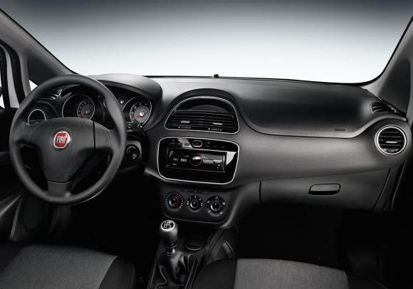 Fiat Punto Young interni