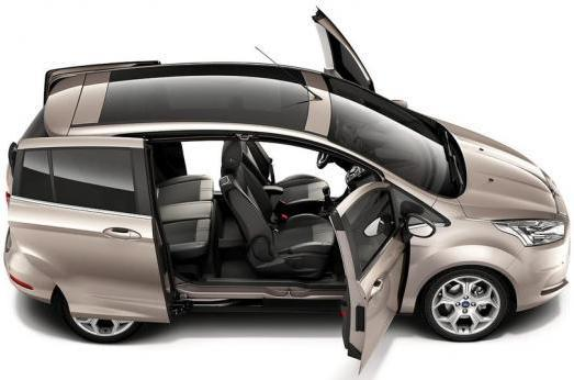 Ford B-Max apertura Easy Door Access
