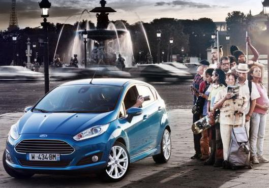 Ford Fiesta restyling 2013 anteriore