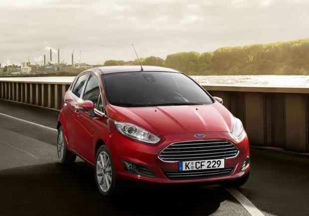 Ford Fiesta 1.5 TDCI Candy Red