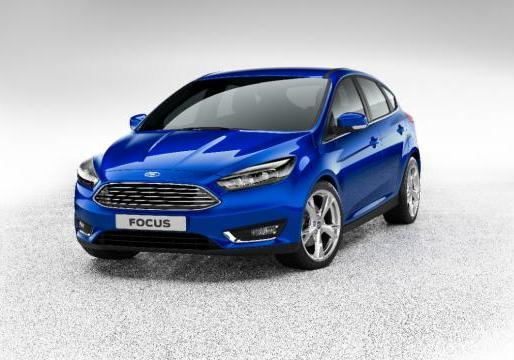 Ford Focus restyling 2014 anteriore