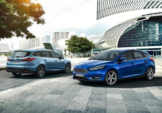 Ford Focus restyling 2014