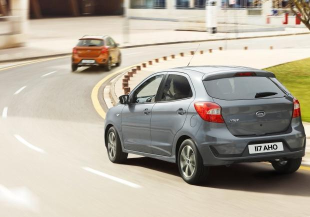 Ford Ka Plus restyling tre quarti posteriore