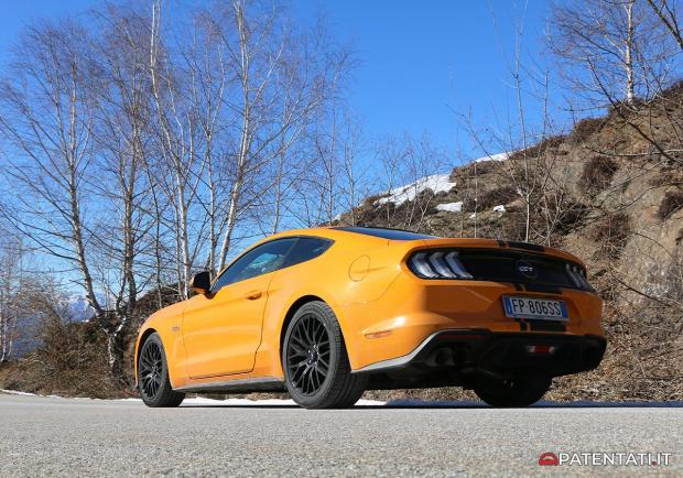 Ford Mustang 5.0 V8 GT automatica test drive