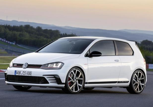 Golf GTI Clubsport frontale