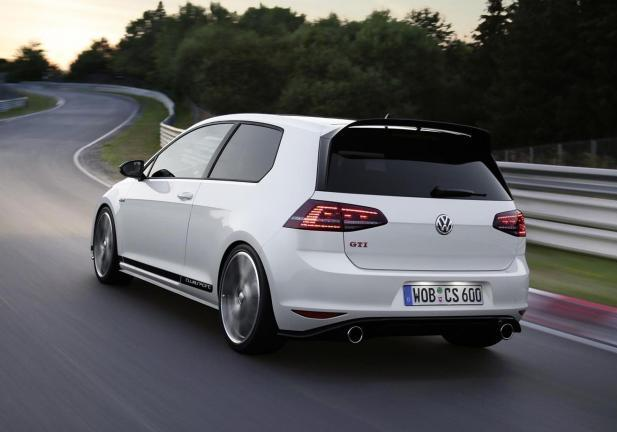 Golf GTI Clubsport posteriore movimento