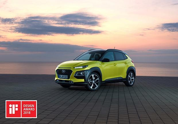 iF Product Design Award, vince (ancora) il design Hyundai. Kona 01