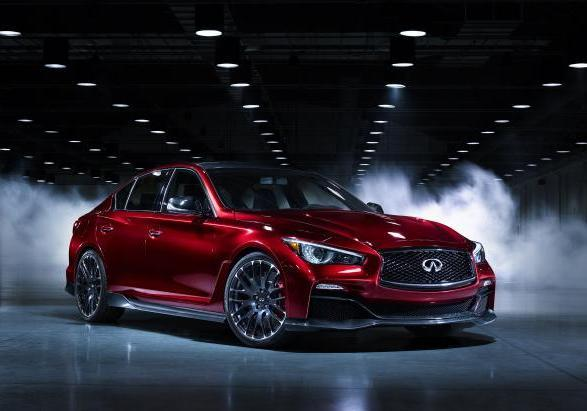 Infiniti Q50 Eau Rouge al ?Festival of Speed? di Goodwood