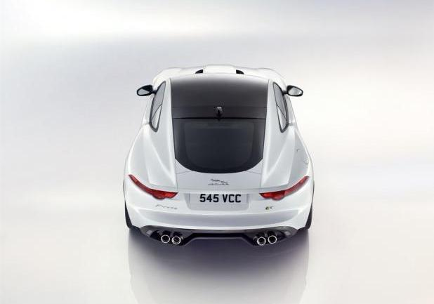 Jaguar F-Type R Coupé posteriore