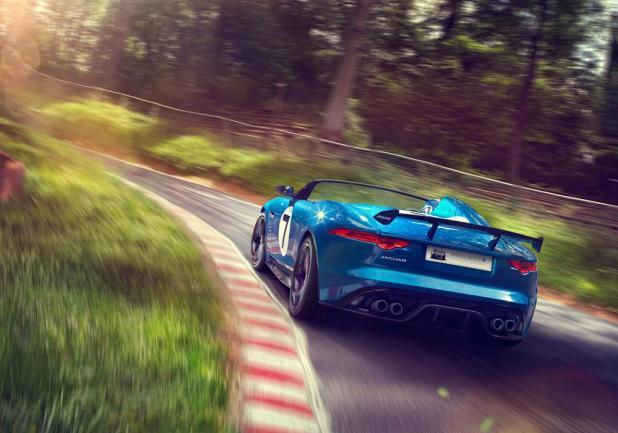 Jaguar Project 7 posteriore