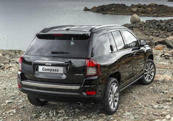 Jeep Compass Limited posteriore