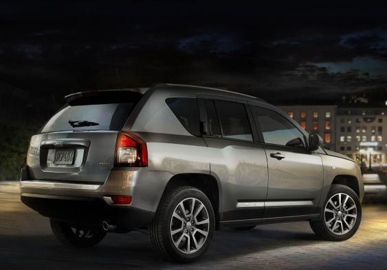 Jeep Compass Limited tre quarti posteriore