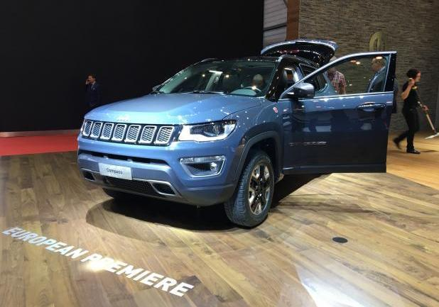 Jeep Compass Salone Ginevra 2017