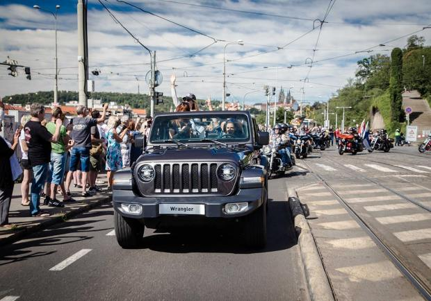 Jeep all'European Bike Week: 2 e 4 ruote si uniscono