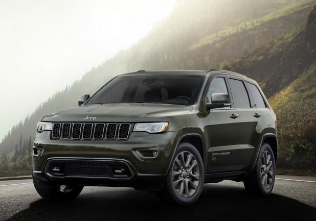 Jeep Gran Cherokee frontale75th Anniversary Edition