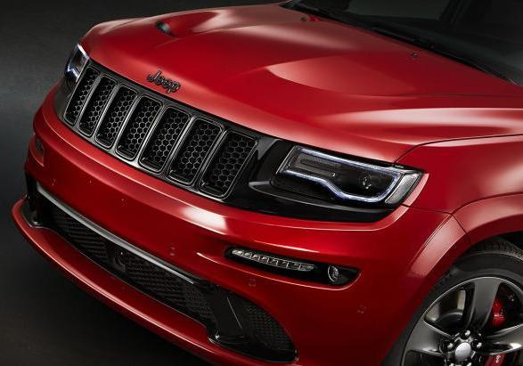 Jeep Grand Cherokee STR Red Vapor