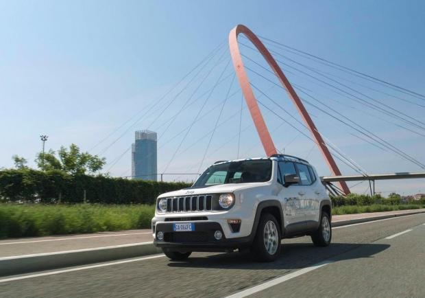 Jeep Renegade 4Xe geofencing lab