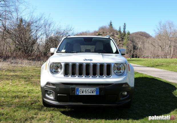 Jeep Renegade 1.6 Multijet anteriore