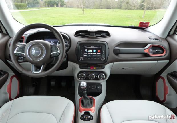 Jeep Renegade 1.6 Multijet interni
