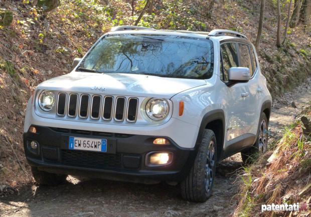 Jeep Renegade 1.6 Multijet percorso off-road