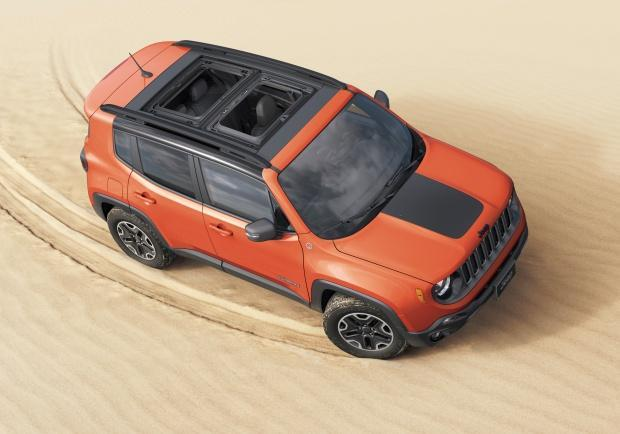 Jeep Renegade MY18 vista alto