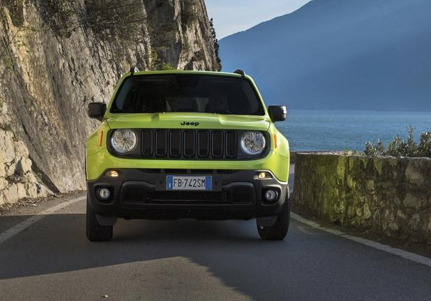 Jeep Renegade Upland frontale