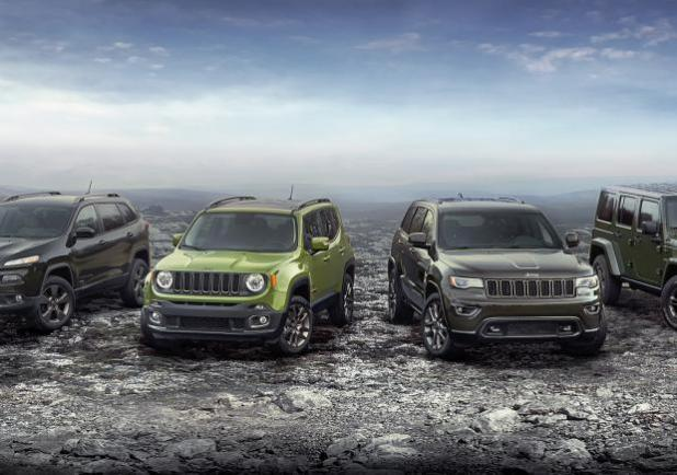 Jeep serie limitata 75th Anniversary Edition