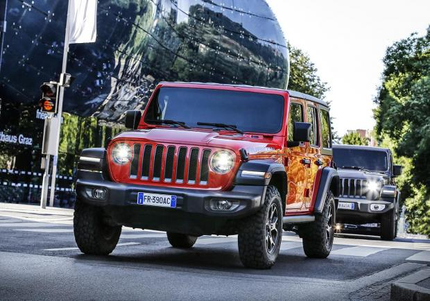 Jeep, test drive durante il 'Motor Bike Expo'