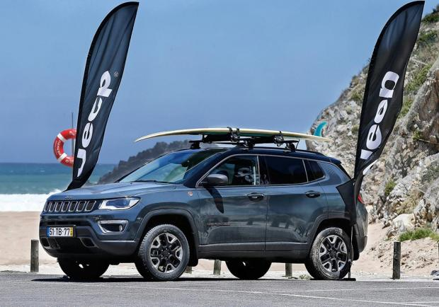 Jeep, tra le onde della World Surf League