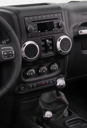 Jeep Wrangler Unlimited my 2013 consolle centrale