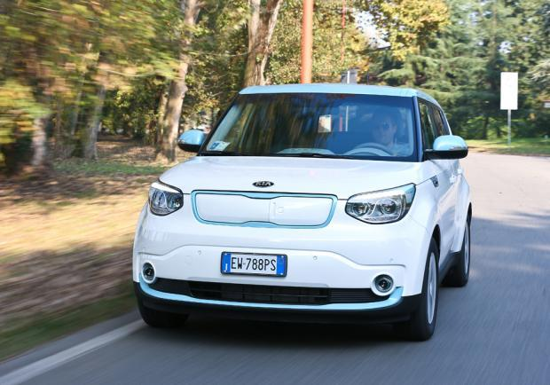 Kia Soul ECO-electric anteriore