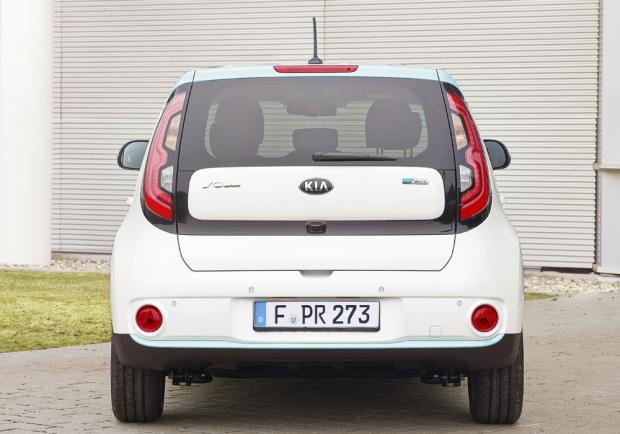 Kia Soul ECO-electric posteriore