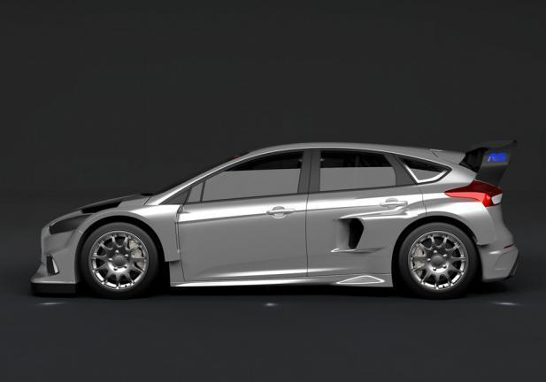 La Ford Focus RS correrà nel Mondiale Rally Cross 2016