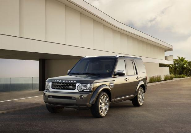 Land Rover Discovery 4 HSE Luxury Edition anteriore